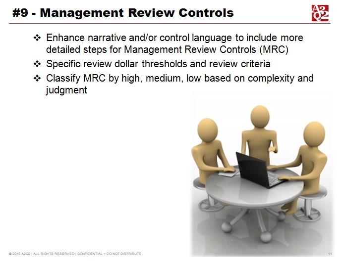 SOX 2016 management review controls
