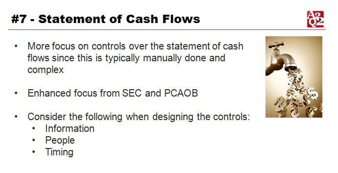 SOX 2016 statement of cash flows