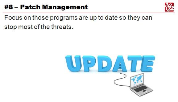 Patch Management Update