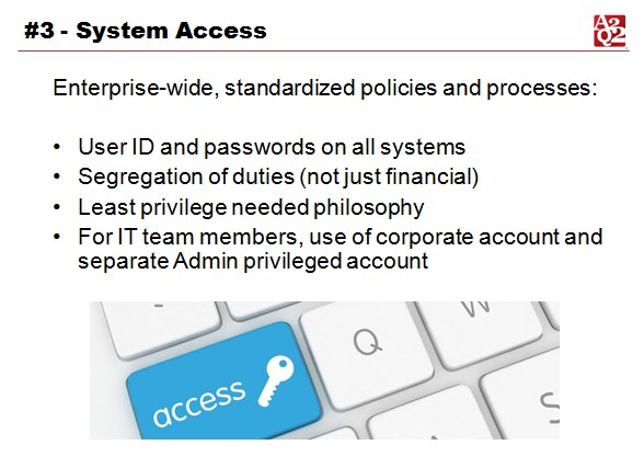 System access controls